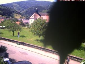 Webcam mit Liveblick auf das historische Wilhelmitenkloster im Herzen Oberrieds